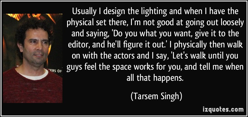 Tarsem Singh's quote #1