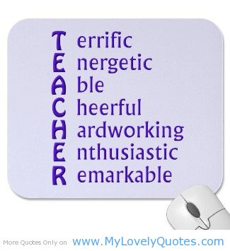 Teacher quote #3