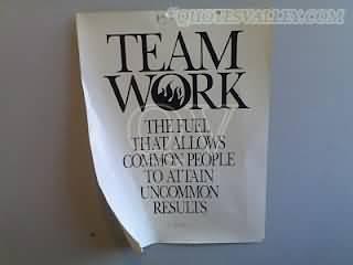 Team Effort quote #1