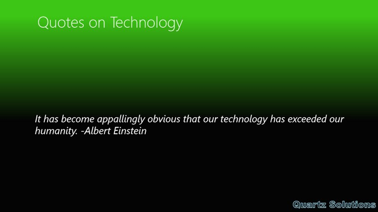 Technology quote #8