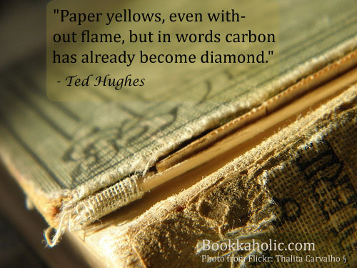 Ted Hughes's quote #1