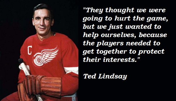 Ted Lindsay's quote #1