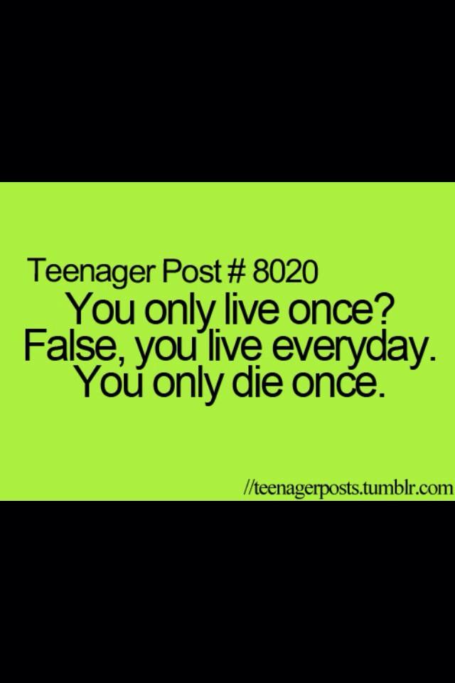 Teen quote #1