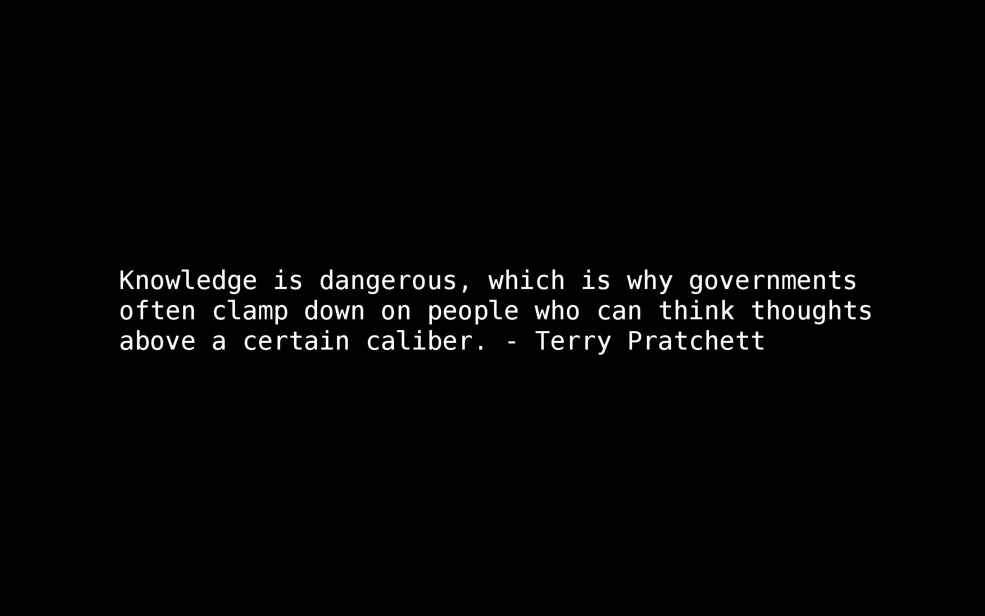 Terry Prachett's quote #1