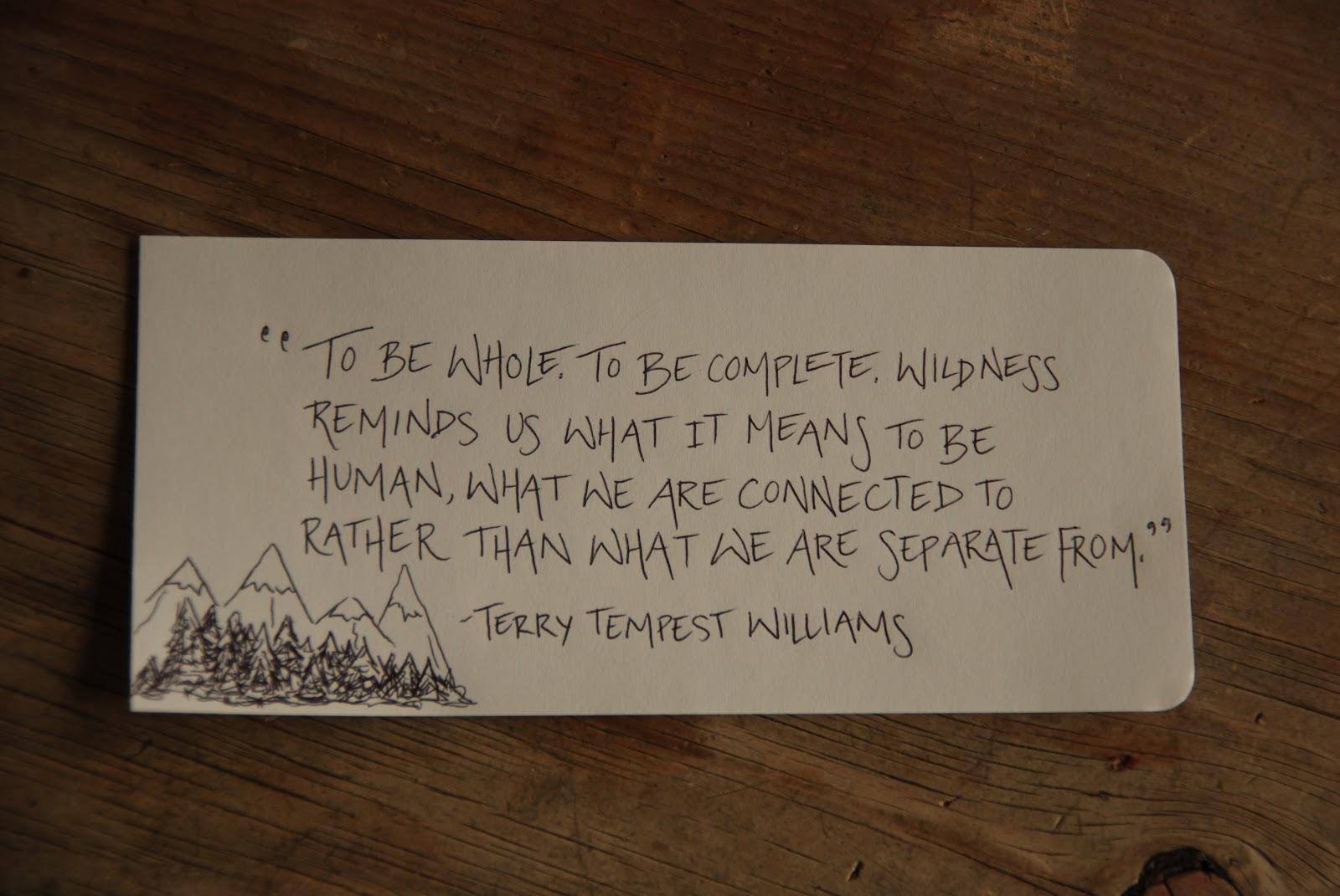 Terry Tempest Williams's quote #1