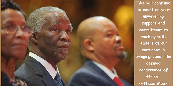 Thabo Mbeki's quote