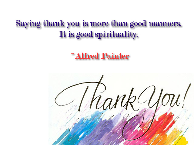 Thank You quote #2