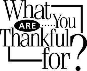 Thankfulness quote #1