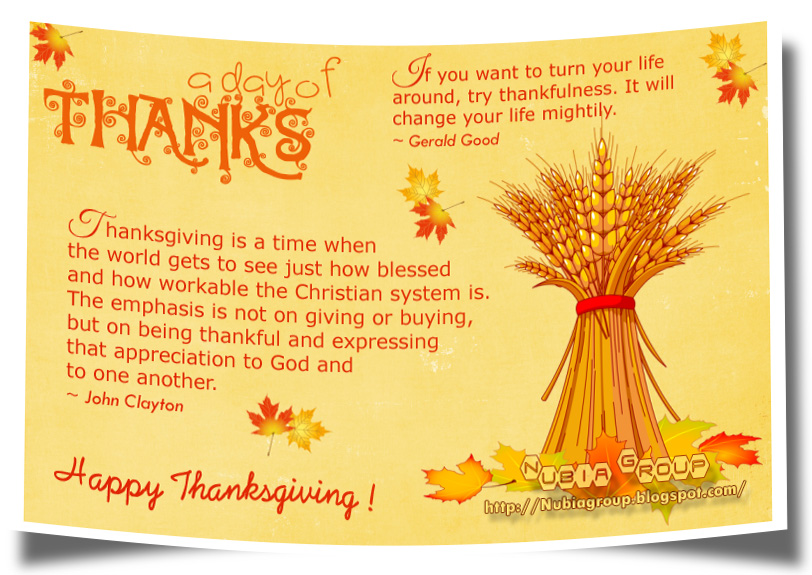 Thanksgiving quote #7