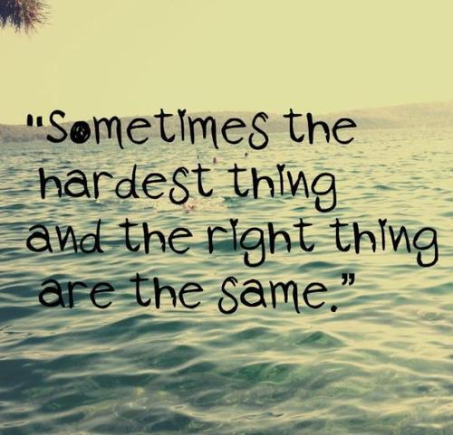The Hardest Thing quote #1
