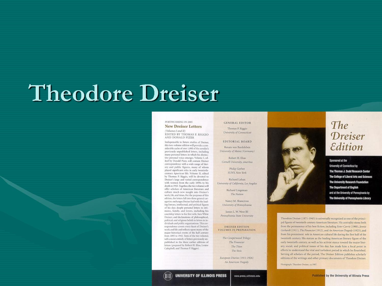 Theodore Dreiser's quote #4