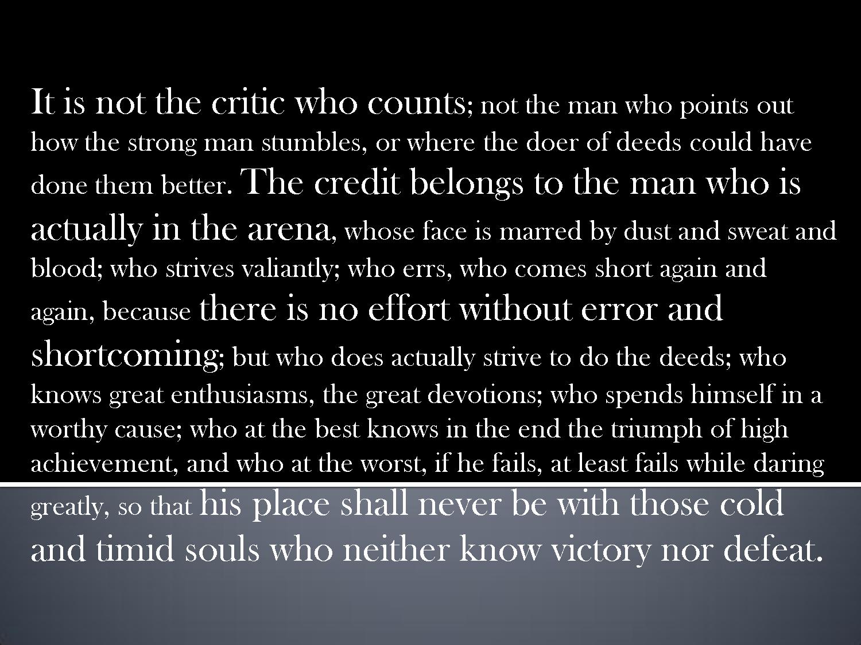 Theodore Roosevelt's quote #4