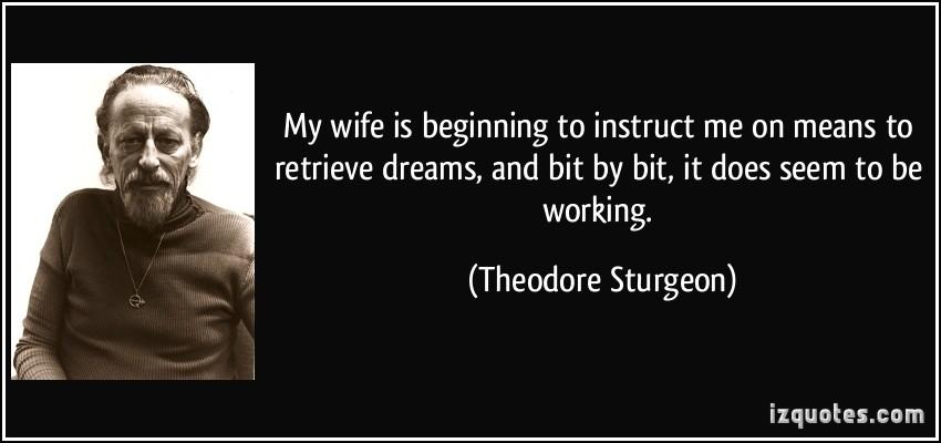 Theodore Sturgeon's quote #1