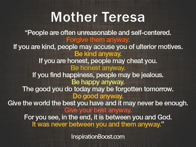Theresa quote #2