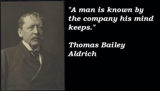 Thomas Bailey Aldrich's quote #1