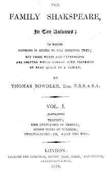 Thomas Bowdler's quote #1