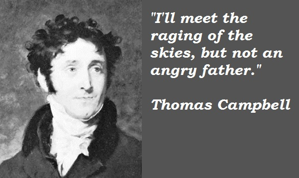 Thomas Campbell's quote #1