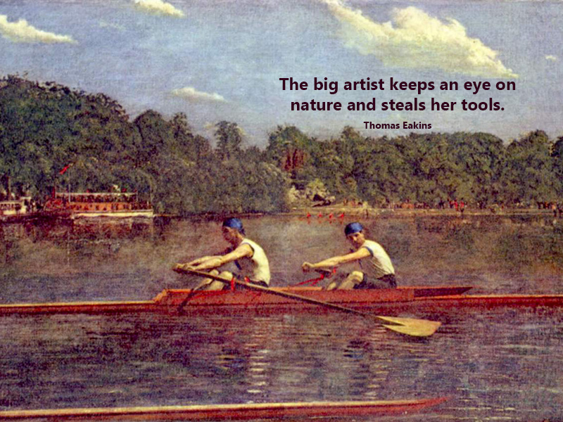 Thomas Eakins's quote #1