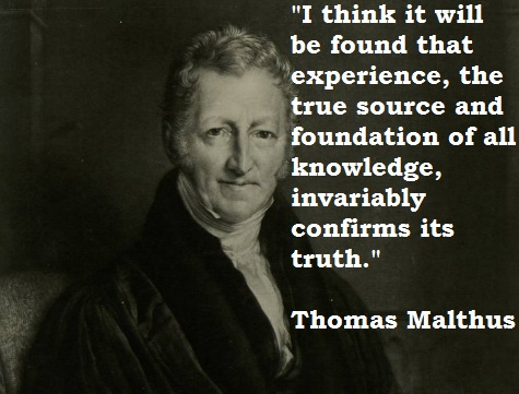 Thomas Malthus's quote #7