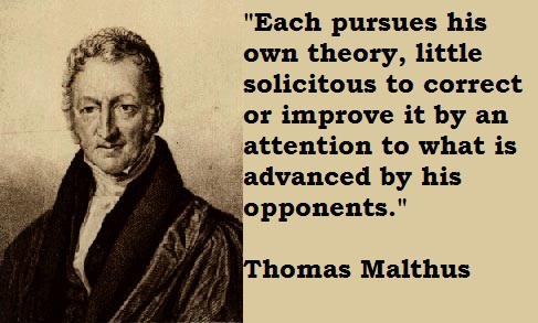 Thomas Malthus's quote #6