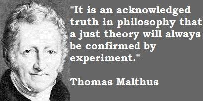 Thomas Malthus's quote #5