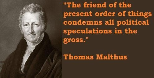 Thomas Malthus's quote #3