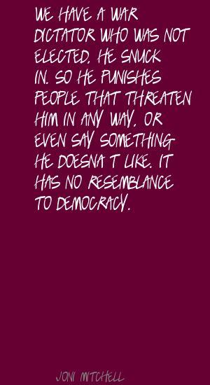 Threaten quote #1
