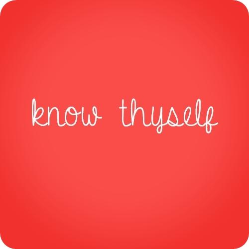 Thyself quote #4