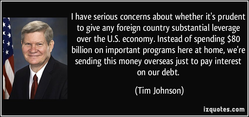 Tim Johnson's quote #1