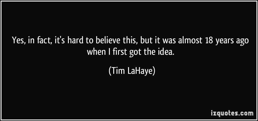 Tim LaHaye's quote #5