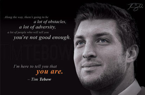 Tim Tebow's quote #1