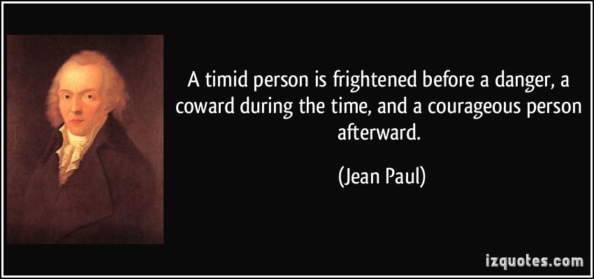 Timid quote #2