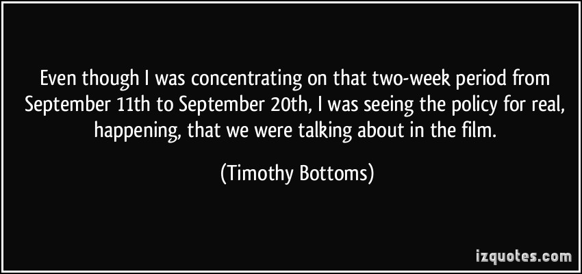 Timothy Bottoms's quote #4
