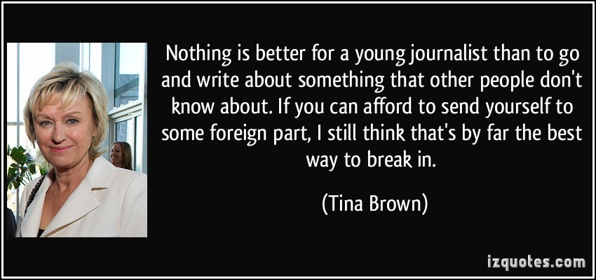 Tina Brown's quote