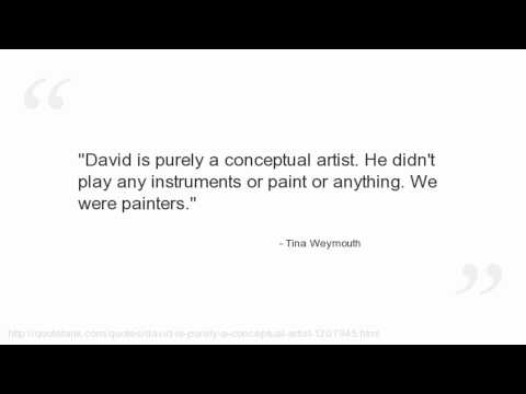 Tina Weymouth's quote #5