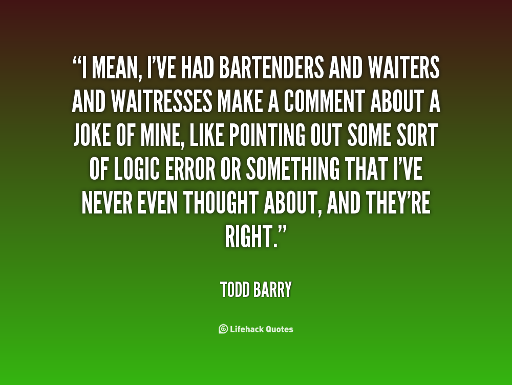 Todd Barry's quote #6
