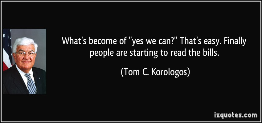 Tom C. Korologos's quote #1