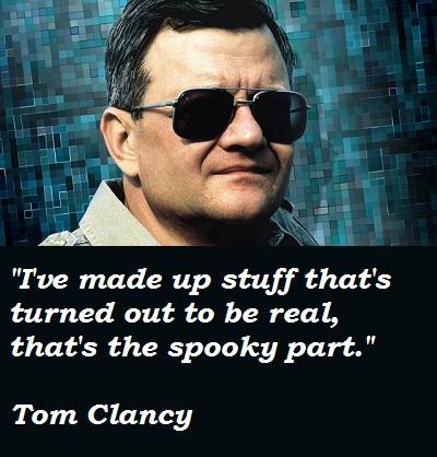Tom Clancy's quote #7