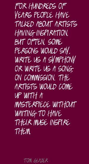 Tom Glazer's quote #8