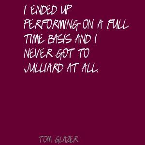 Tom Glazer's quote #2