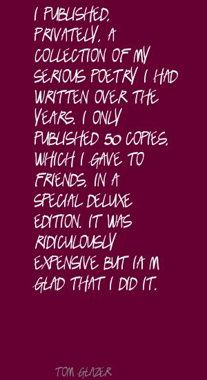 Tom Glazer's quote #7