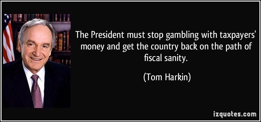Tom Harkin's quote