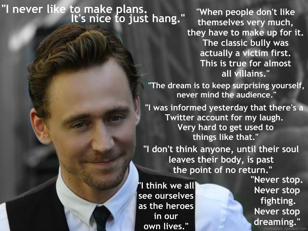 Tom Hiddleston's quote #4