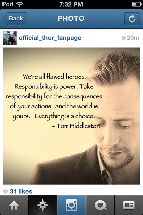 Tom Hiddleston's quote #7