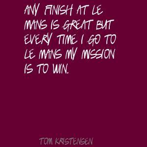 Tom Kristensen's quote #3