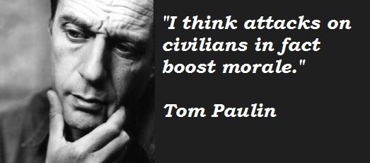 Tom Paulin's quote #2