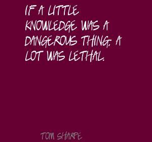 Tom Sharpe's quote #1