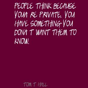 Tom T. Hall's quote #5