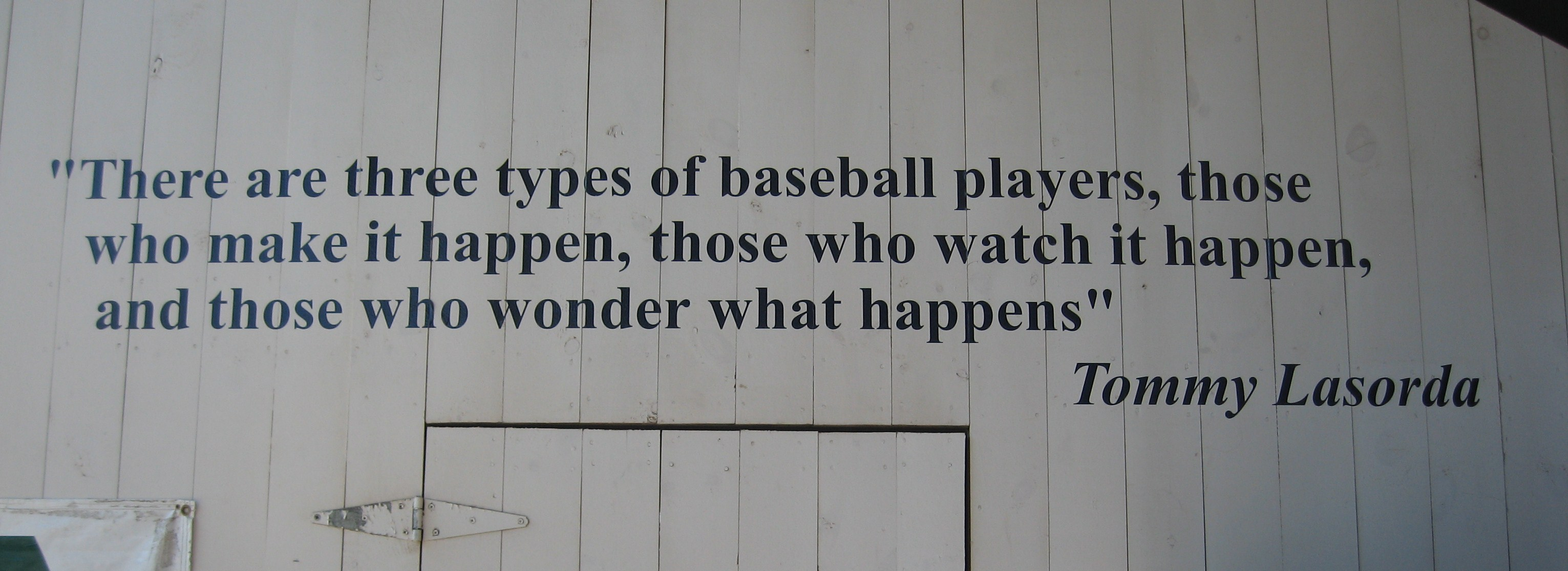 Tommy Lasorda's quote #5