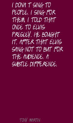 Tony Martin's quote #1